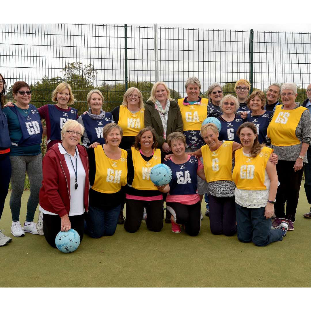 GMS Charity Baddersley Walking Netball